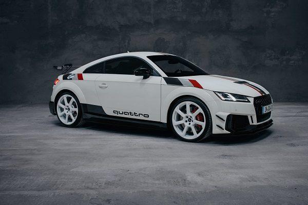 Audi TT RS 40e anniversaire: l'ultime version du petit coupé?