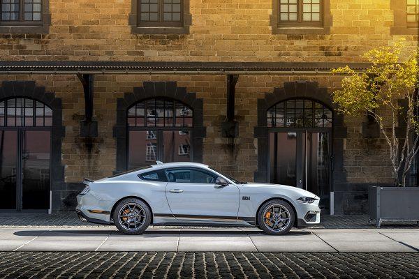 Ford Mustang Mach 1 : la version la plus radicale de toutes les Mustang?