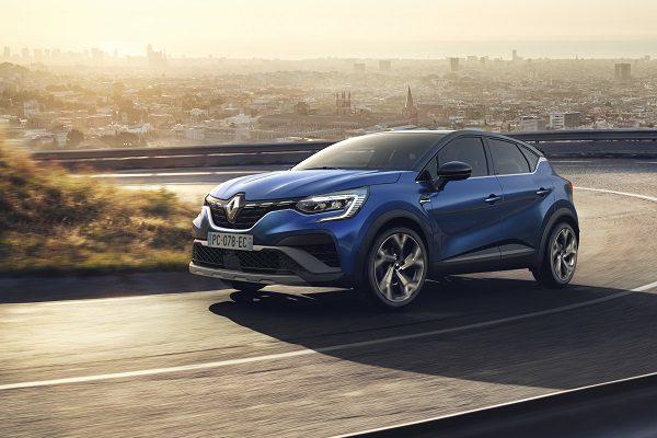 Renault Captur : une version hybride simple et une finition RS Line ajoutées