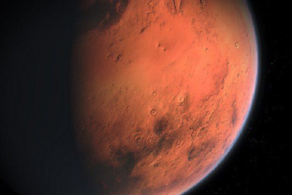 La Tesla Roadster s'est rapprochée de la planète Mars