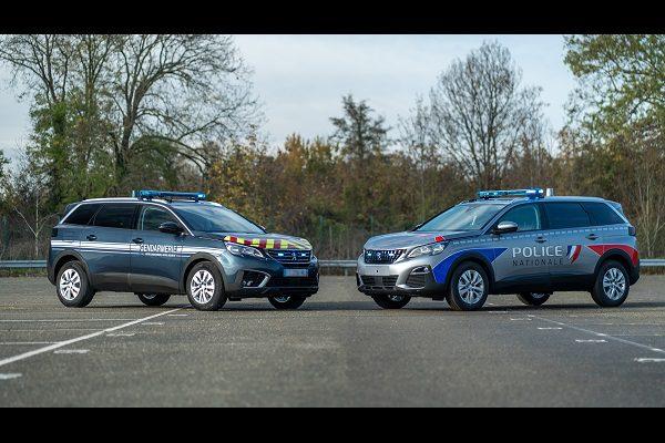 Des Peugeot 5008 pour la Police et la Gendarmerie Nationale