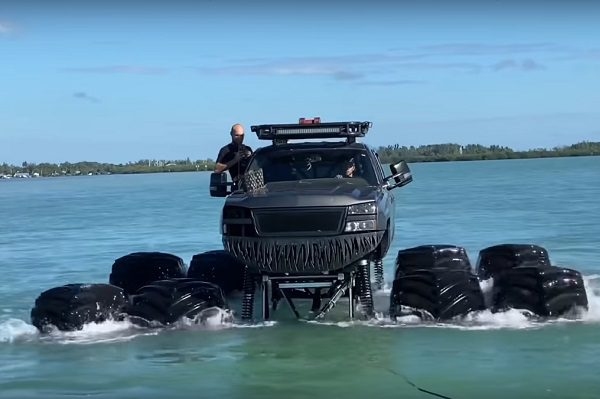 Monstermax : le pick-up flottant