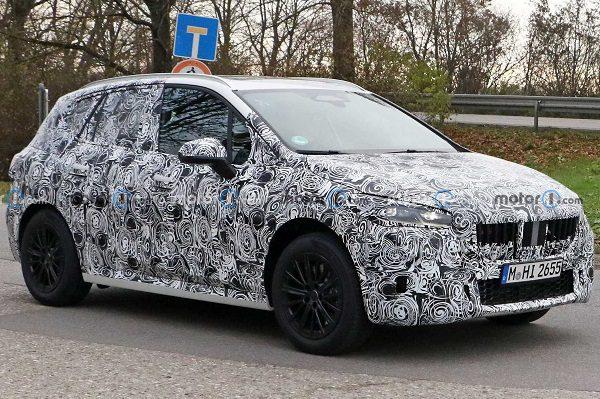 BMW Série 2 Active Tourer: vers une évolution forte du design pour la nouvelle génération