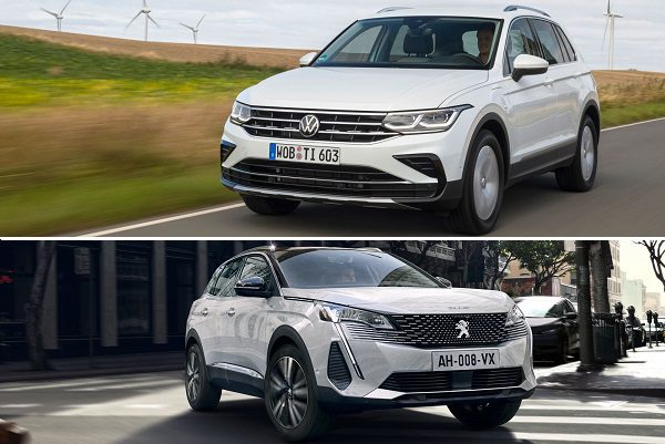 Peugeot 3008 Hybrid 225 ou Volkswagen Tiguan eHybrid: quel SUV hybride choisir ?