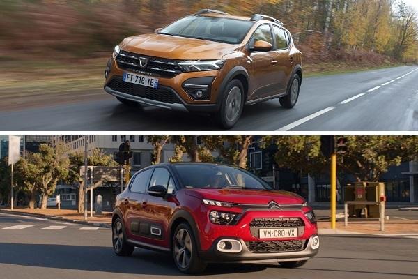 Dacia Sandero Stepway / Citroën C3: notre comparatif