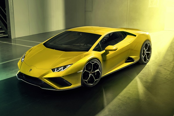 Urgence santé en Lamborghini Huracan