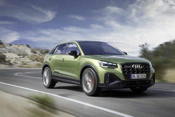 Audi SQ2 restylé: toujours 300 chevaux pour le SUV urbain avec un tarif en légère hausse