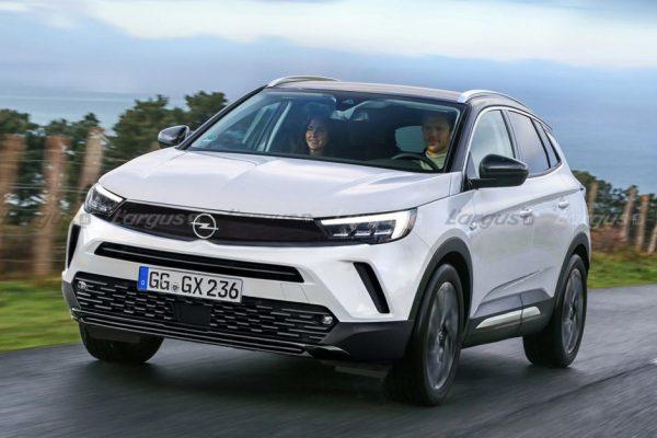 Opel Grandland restylé: les premiers détails techniques