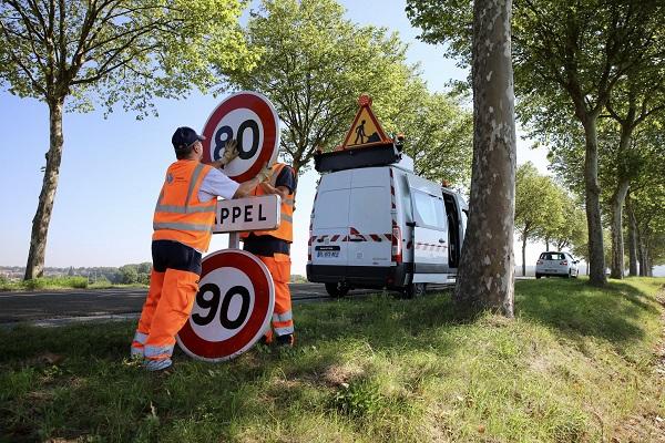 Retour aux 90 km/h: la liste des départements qui basculent (et ceux qui restent à 80 km/h)