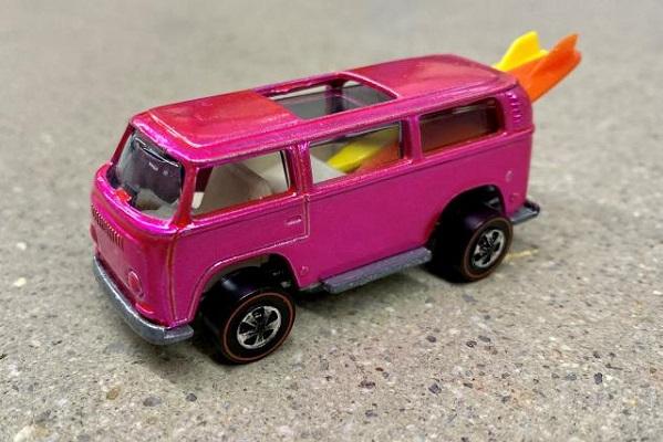 La Hot Wheels la plus chère au mondeest un combi Volkswagen rose