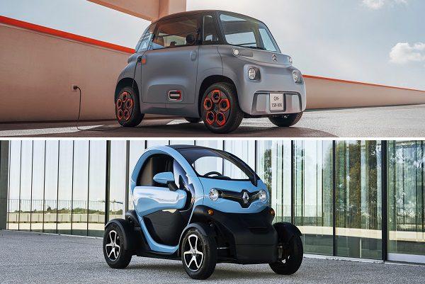 Duel de voitures électriques sans permis: Citroën AMI vs Renault Twizy 45