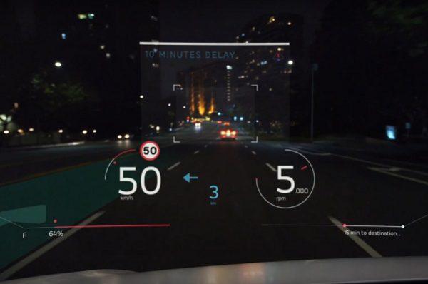 Panasonic : la réalité augmentée s'invite sur nos pare-brises