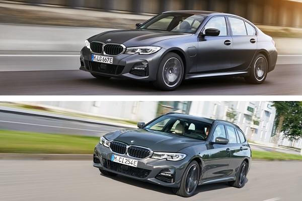 Les premières images des BMW 320e et 520e, déclinaisons hybrides rechargeables plus abordables