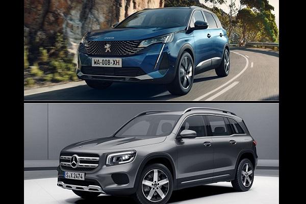 Peugeot 5008 et Mercedes GLB : le comparatif des SUV 7 places