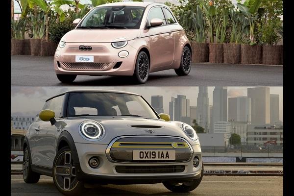 Nouvelle Fiat 500 et Mini Cooper SE : le comparatif des citadines chics et électriques