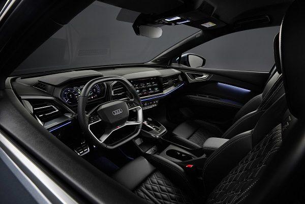 À la découverte de l'intérieur du SUV électrique Q4 e-tron