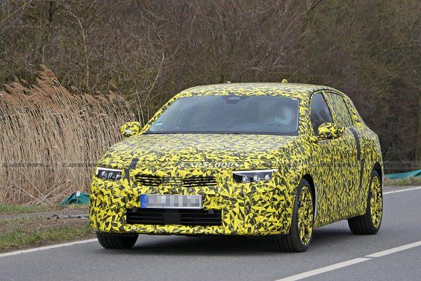La nouvelle Opel Astra en préparation