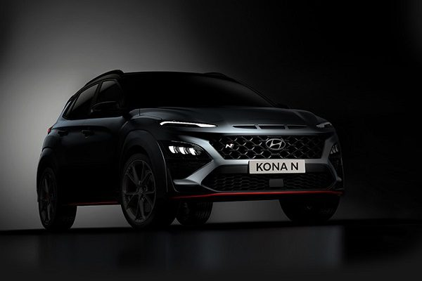 Hyundai Kona N: première image de la déclinaison sportive du SUV