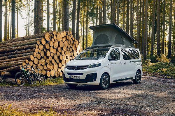Opel Zafira Life Crosscamp Lite: le minivan avec trois lits et une vie à bord intelligente!