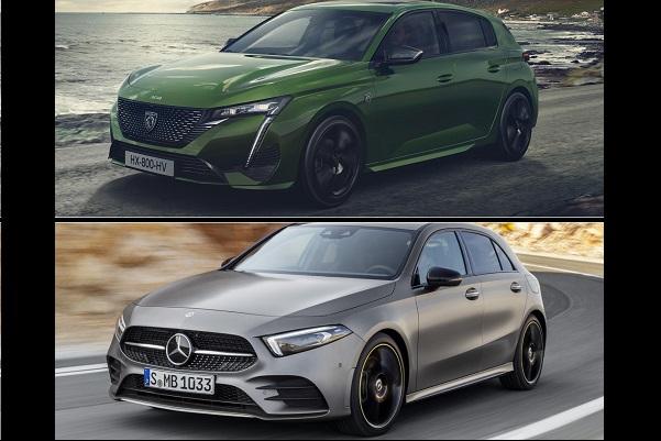308 vs Mercedes Classe A