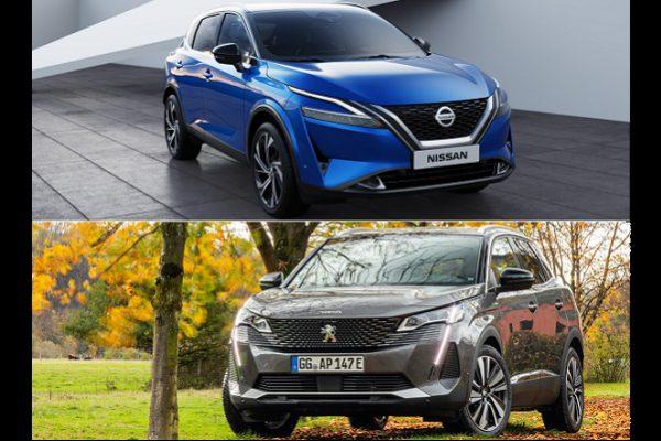 Face à face: nouveau Nissan Qashqai vs Peugeot 3008