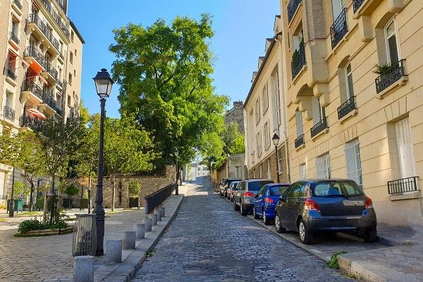 Stationnement voitures Paris
