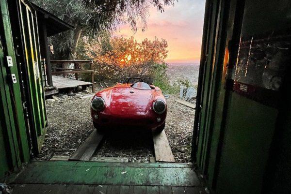 Porsche 550 Spyder : une découverte inattendue dans un conteneur