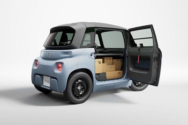 Citroën My Ami Cargo: un véhicule utilitaire malin, électrique et sans permis