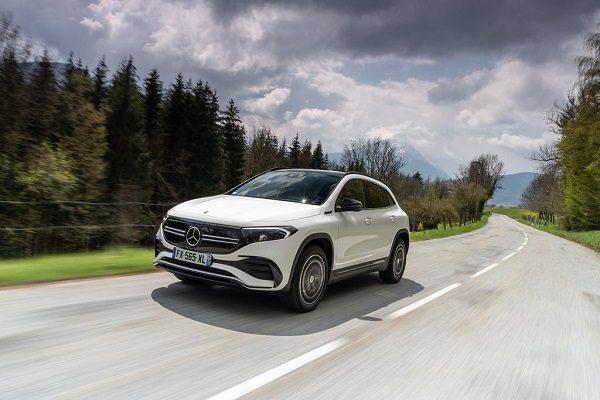 Mercedes EQA : une nouvelle version avec transmission intégrale