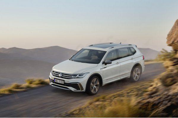Volkswagen Tiguan Allspace restylé: voici les innovations du SUV 7 places