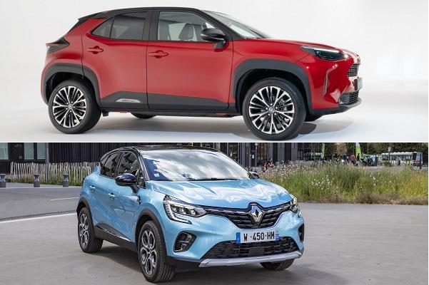 Yaris cross vs Renault Captur