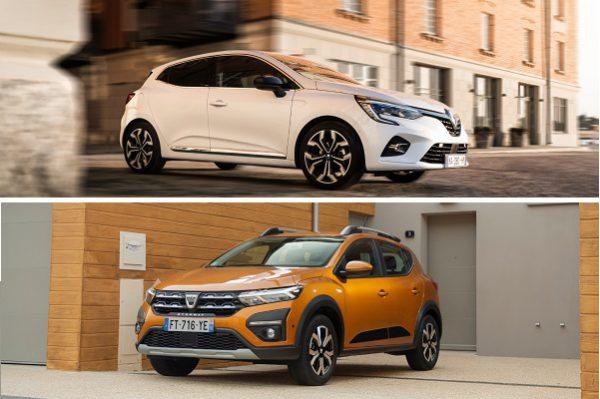 Renault Clio VS Dacia Sandero : le comparatif