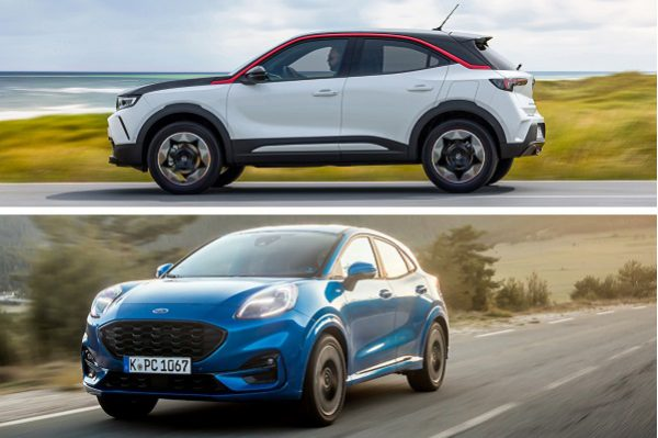 Opel Mokka VS Ford Puma : confrontation de deux petits SUV urbains