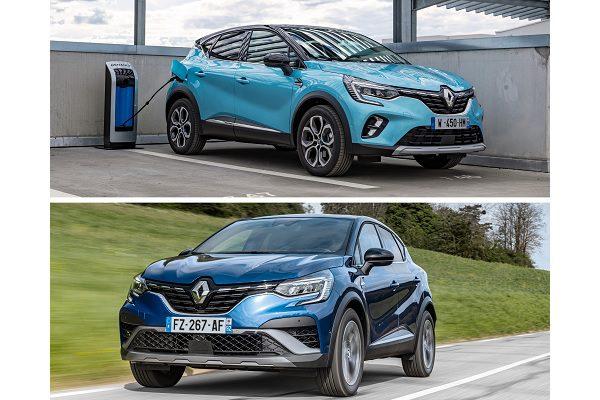 Renault Captur : hybride simple ou hybride rechargeable, lequel vous correspond ?
