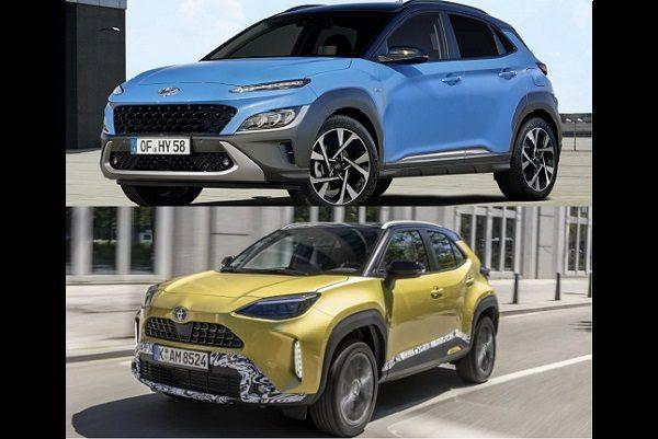 SUV urbains hybrides: Toyota Yaris Cross et Hyundai Kona, ces voitures «futuristes» déjà sur nos routes