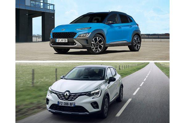 SUV compact hybride : quand le Renault Captur rencontre le Hyundai Kona