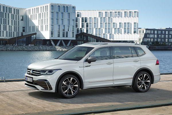 Volkswagen Tiguan Allspace restylé: très cher SUV sept places