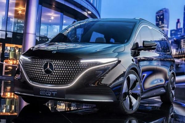 Mercedes Concept EQT : le modèle de série du ludospace arrive en 2022