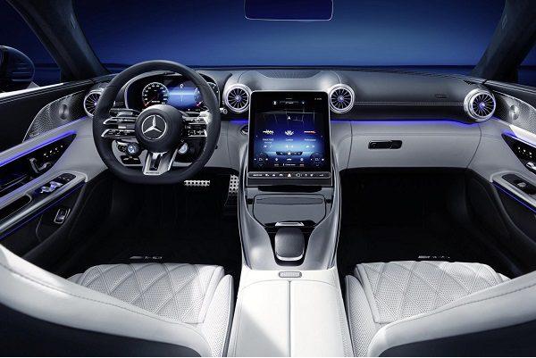 Mercedes-AMG SL(2022) : voici son intérieur en images