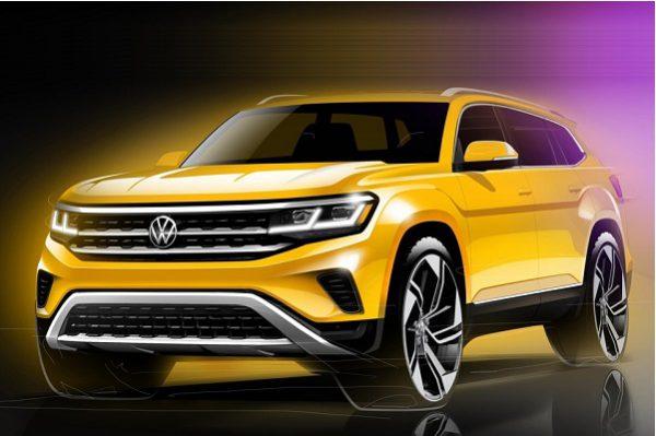 ID.8, le très grand SUV électrique que prépare Volkswagen